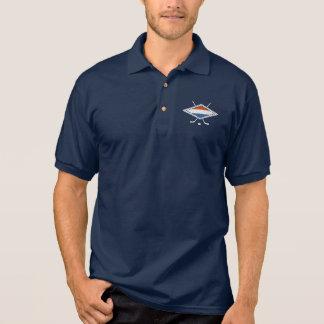 オランダのアイスホッケーのロゴのポロシャツ ポロシャツ