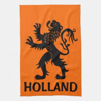 オランダのライオン キッチンタオル