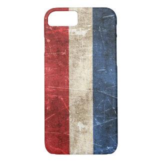 オランダのヴィンテージの老化させ、傷付けられた旗 iPhone 8/7ケース