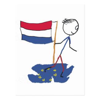オランダの出口 ポストカード