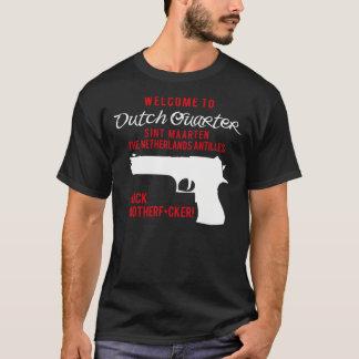 オランダの四分の一への歓迎 Tシャツ