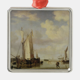 オランダの容器浸っている沿岸におよび人1661年 メタルオーナメント