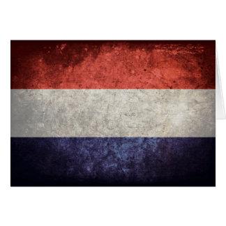 オランダの旗 カード