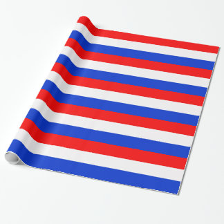 オランダの旗 ラッピングペーパー