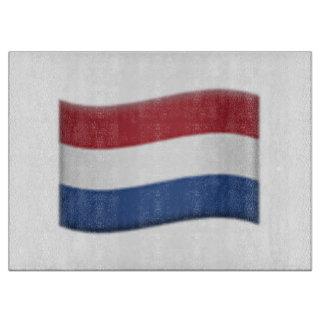 オランダの旗- Emoji カッティングボード