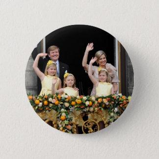 オランダの王室 5.7CM 丸型バッジ