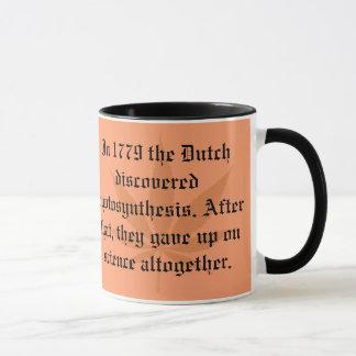 オランダの発見-光合性 マグカップ