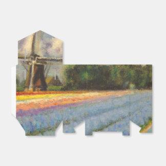 オランダの風車の花分野 フェイバーボックス