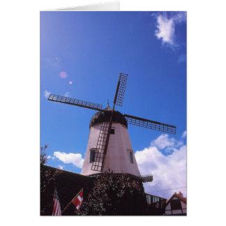 オランダの風車、Solvangカリフォルニア カード