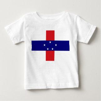 オランダアンティル諸島の旗 ベビーTシャツ