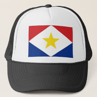 オランダアンティル諸島Sabaの旗 キャップ