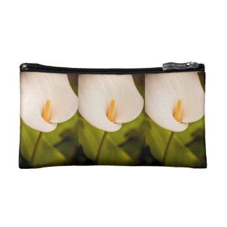 オランダカイウの優雅 コスメティックバッグ