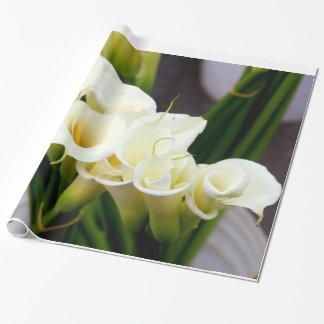 オランダカイウユリの包装紙 ラッピングペーパー