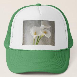 オランダカイウユリの帽子 キャップ