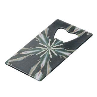 オランダカイウユリの星の万華鏡のように千変万化するパターン ウォレット 栓抜き