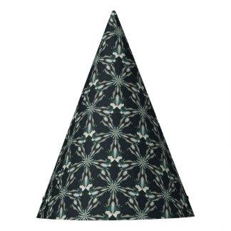 オランダカイウユリの星の万華鏡のように千変万化するパターン パーティーハット