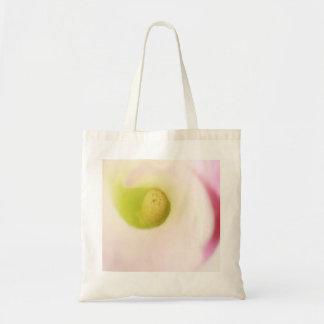 オランダカイウユリの花のバッグ トートバッグ