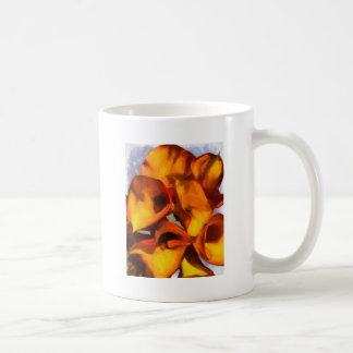 オランダカイウユリの花束 コーヒーマグカップ
