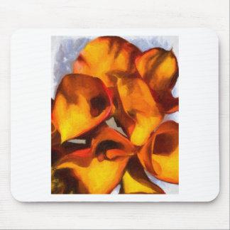 オランダカイウユリの花束 マウスパッド