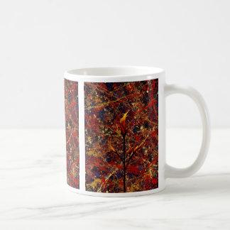 オランダカイウユリ: 天国の~のために達すること コーヒーマグカップ