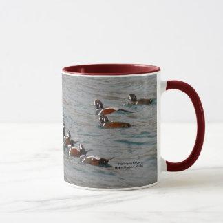 オランダ港、アラスカ:  道化師のアヒル マグカップ