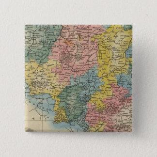 オランダ8 5.1CM 正方形バッジ