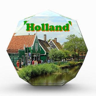 オランダ: オランダの風車の村 表彰盾