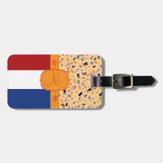 オランダ-モノグラムのための愛 ラゲッジタグ