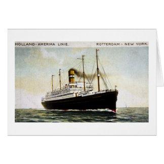 オランダAmerikaライン-ロッテルダム-ニューヨーク カード