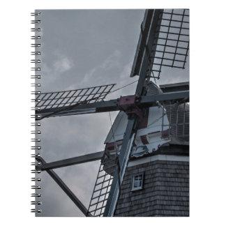 オランダMIの風車 ノートブック