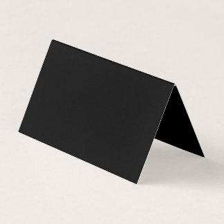 オリエンテーション: 折られた横のテントはのようにありません 名刺