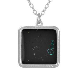 オリオンの星座のネックレス シルバープレートネックレス