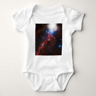 オリオンの星雲のスター形成の頂点の眺め ベビーボディスーツ