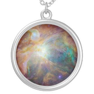 オリオンの星雲のネックレス シルバープレートネックレス