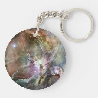 オリオンの星雲のパステル キーホルダー