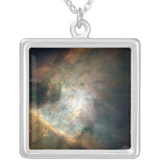 オリオンの星雲のペンダントのネックレス シルバープレートネックレス