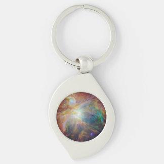 オリオンの星雲の合成物 キーホルダー