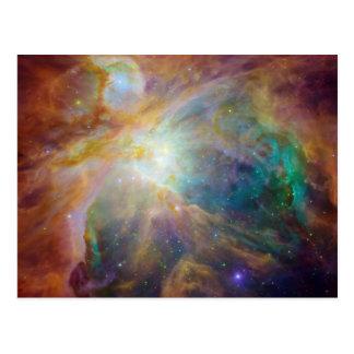 オリオンの星雲の合成物 ポストカード