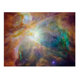オリオンの星雲の天文学の写真 ポストカード