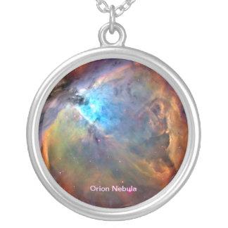 オリオンの星雲の宇宙の銀河系のネックレス シルバープレートネックレス