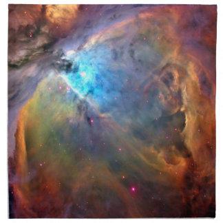 オリオンの星雲の宇宙の銀河系 ナプキンクロス