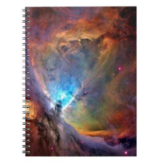 オリオンの星雲の宇宙の銀河系 ノートブック