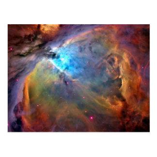 オリオンの星雲の宇宙の銀河系 ポストカード