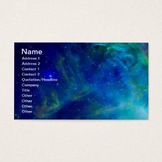 オリオンの星雲の宇宙銀河系の宇宙の宇宙 名刺