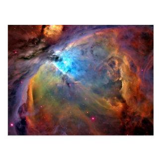 オリオンの星雲の郵便はがき ポストカード