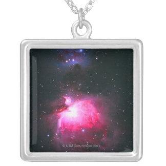 オリオンの星雲2 シルバープレートネックレス