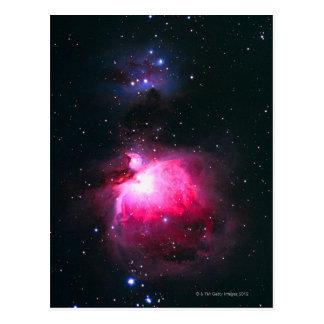オリオンの星雲2 ポストカード