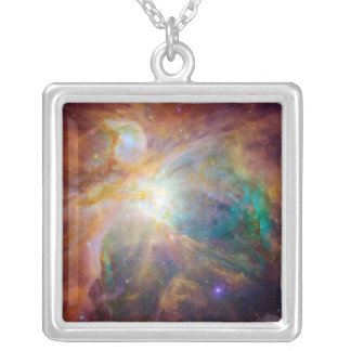 オリオンの星雲3 シルバープレートネックレス