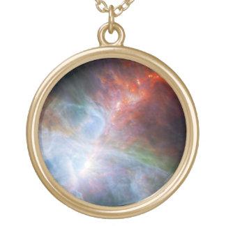 オリオンの星雲 ゴールドプレートネックレス