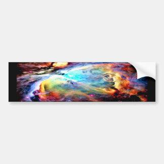 オリオンの星雲 バンパーステッカー